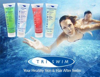 Chăm sóc da sau bơi cấp tốc với bộ dầu tắm tích hợp 3 chức năng