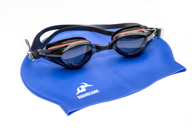 Combo Kính và Mũ Bơi Cao Cấp SWIMCARE