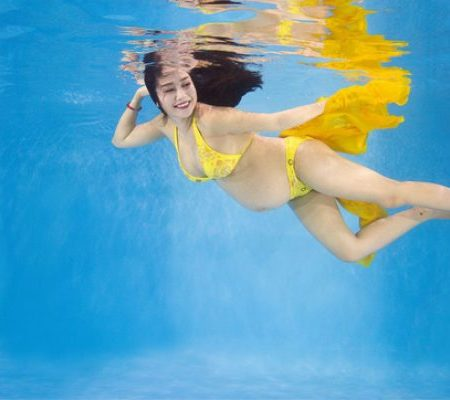 Bơi lội: môn thể thao tuyệt vời cho mẹ bầu