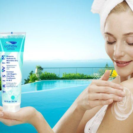 Các công dụng tuyệt vời của sữa dưỡng da chuyên dụng dành cho người bơi lội