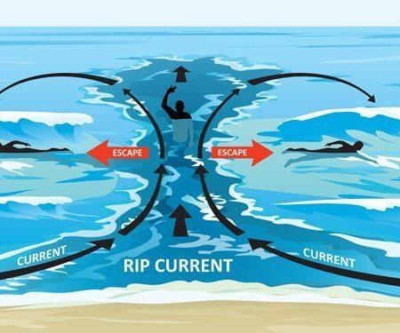 Dòng chảy xa bờ – kẻ giết người nguy hiểm khi tắm biển