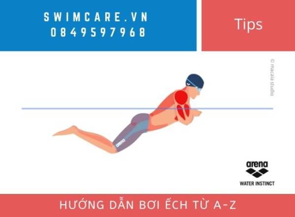 Hướng dẫn bơi ếch từ a-z