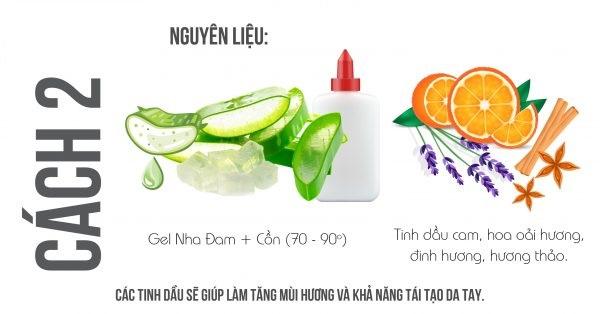 cách làm gel rửa tay khô tại nhà