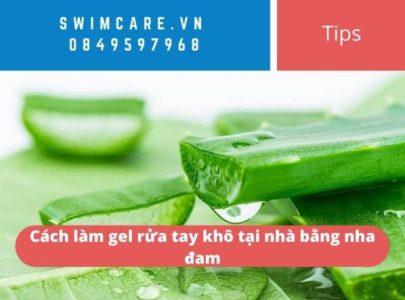 Cách làm gel rửa tay khô tại nhà từ nha đam cực dễ