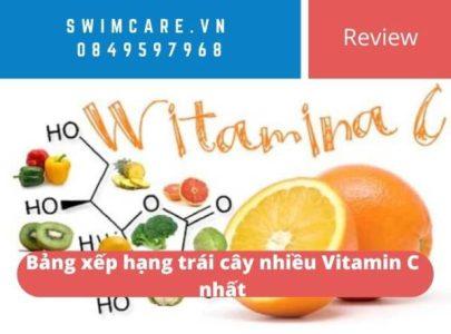 [Review] Bảng xếp hạng trái cây nhiều Vitamin C nhất